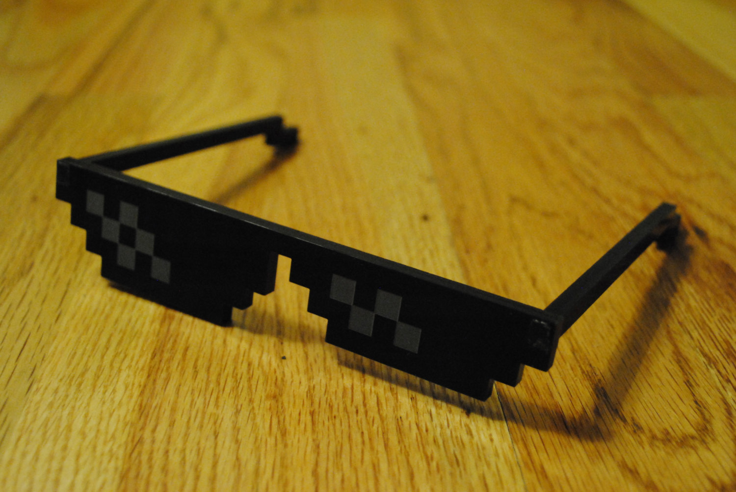 Pixel Sunglasses Meme  irl deal with it glasses deal with it know your meme