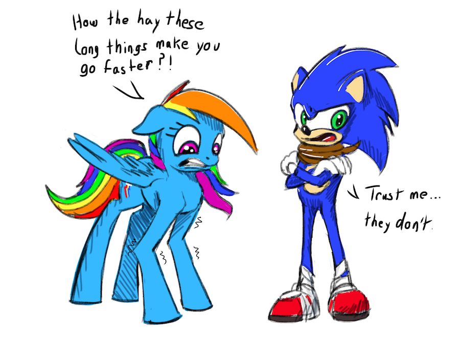 sonic meets rainbine by - photo #43