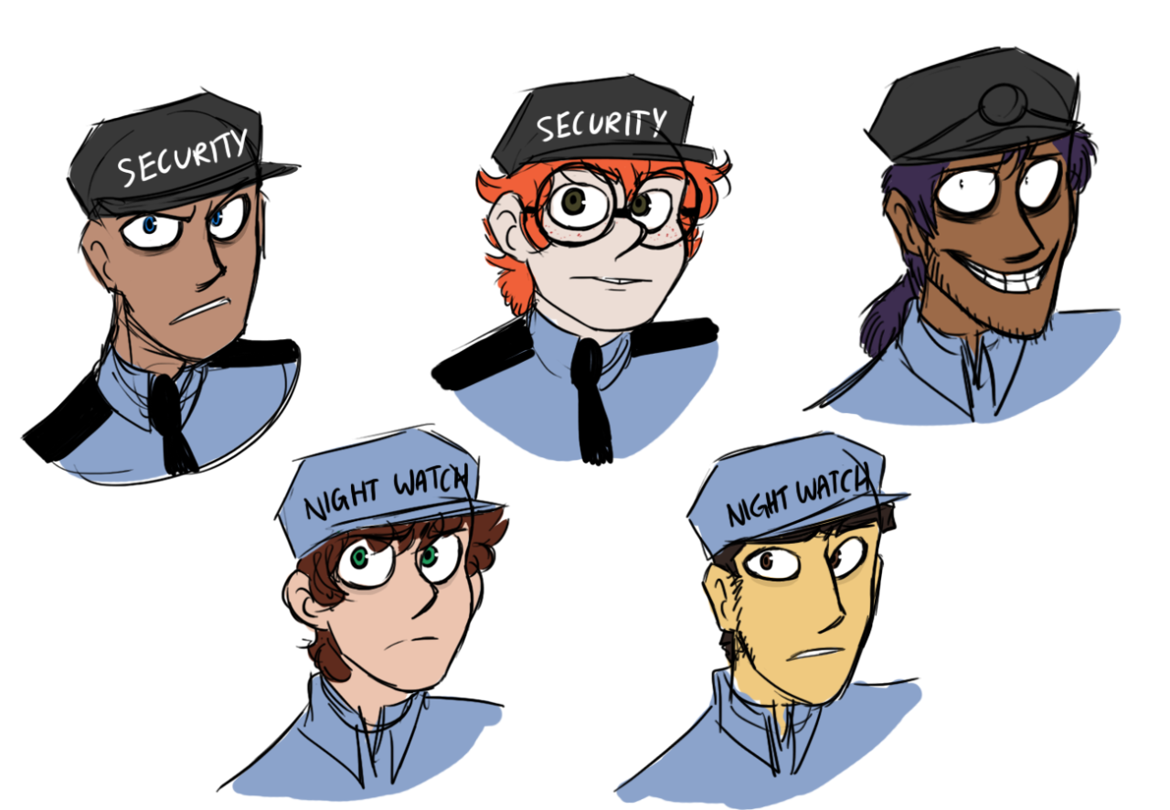More definite human faces five nights at freddy s know your meme