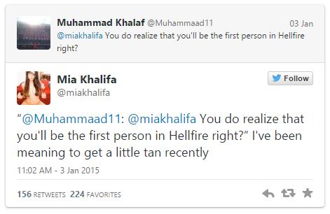 image mia khalifa death threats know your meme