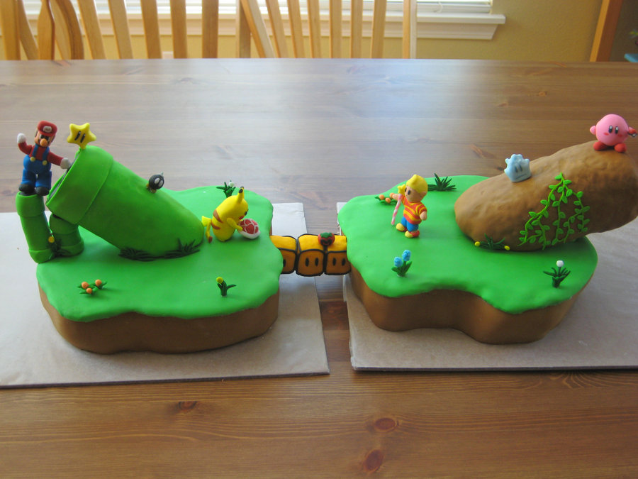 Smash Bros Cake Images