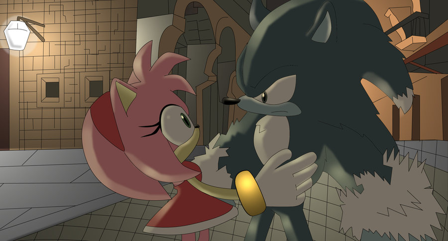 what episode did sonic meet amy