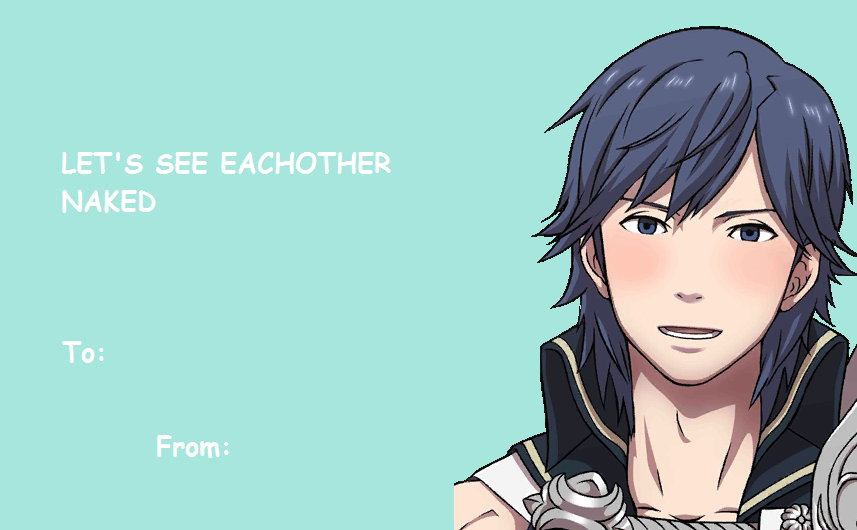 Fire Emblem Valentines Day Ecards – E Cards for Valentines