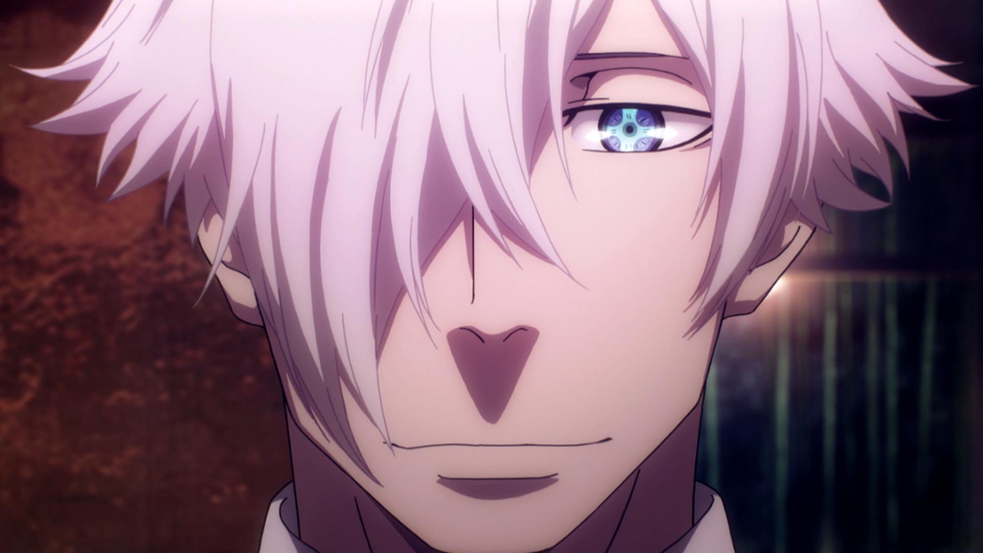 Anime Characters Smiling : Death parade smile anime know your meme