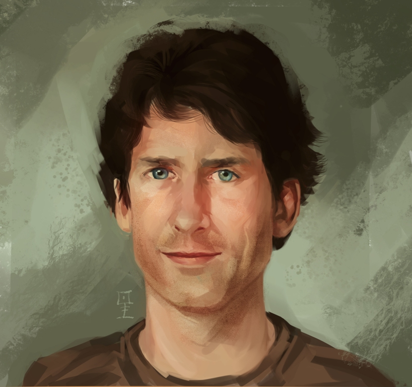 Todd Howard Painting | Todd Howard | Know Your Meme