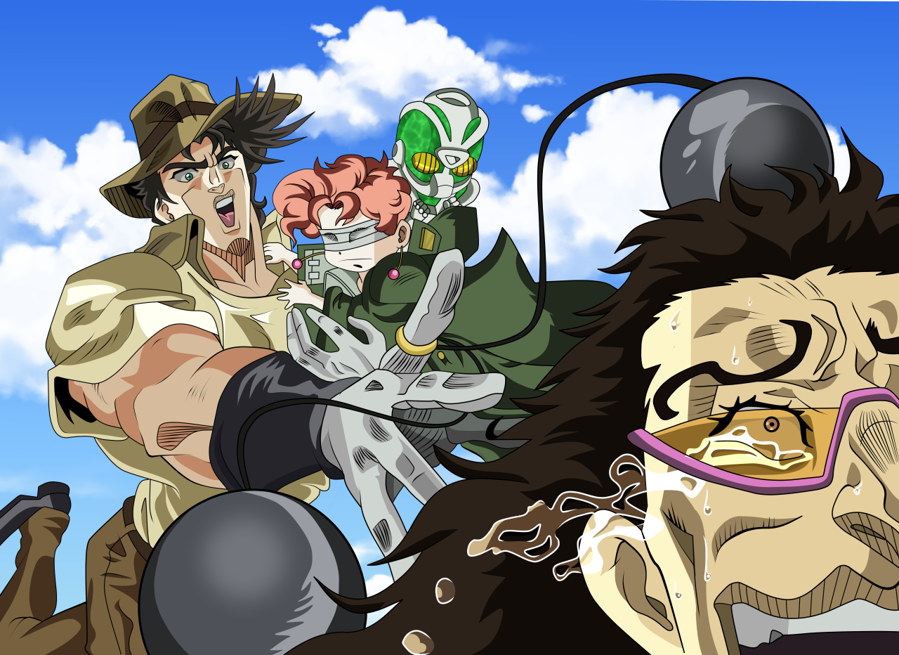 JoJo's Bizarre Adventure: Stardust Crusaders / Funny - TV Tropes