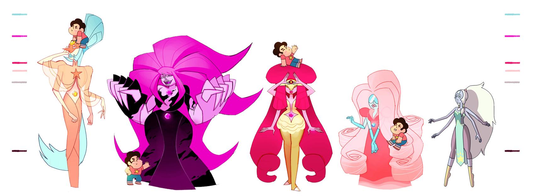 Rose Quartz Fusions   Steven Universe   Know Your MemeRose Quartz Steven Universe