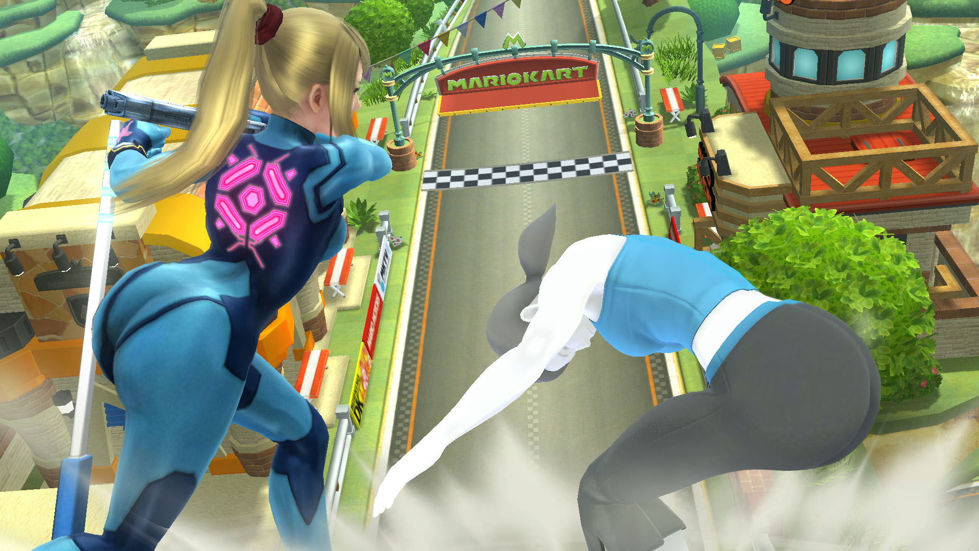 Zero Suit Samus and Wii Fit Trainer: Big Booty Babes ...