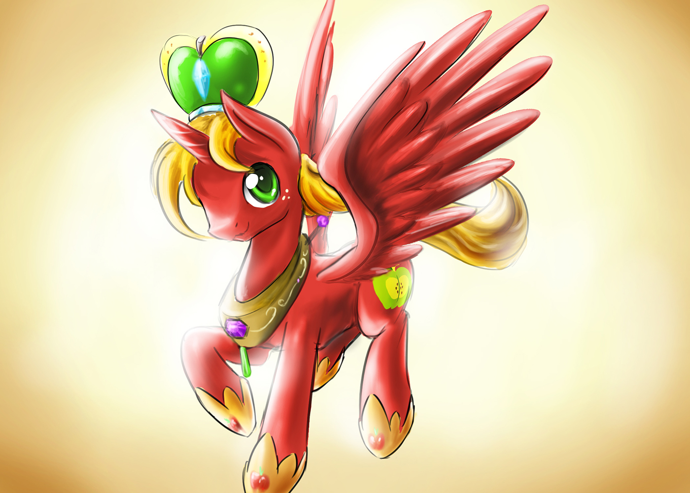 Princess Big Mac My Little Pony Friendship Is Magic Princess Big Macintosh