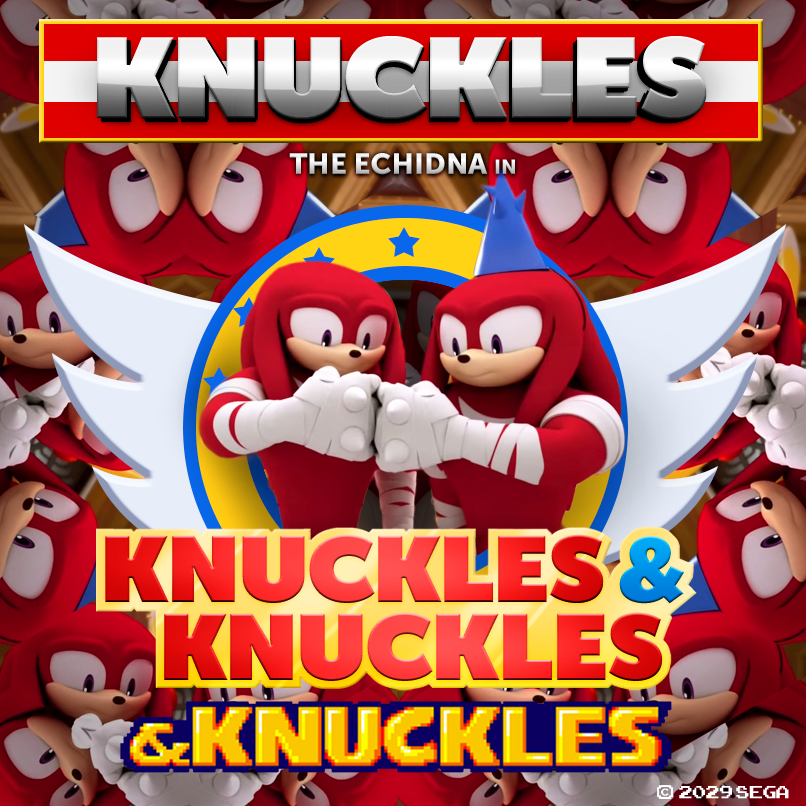 Knuckles the echidna in knuckles amp knuckles amp knuckles coming summer