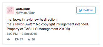 anti-milk's tweet | Taylor Swift™ No Copyright ...
