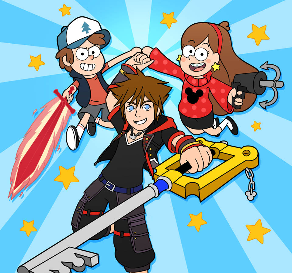 Sora Mabel And Dipper Kingdom Hearts Know Your Meme