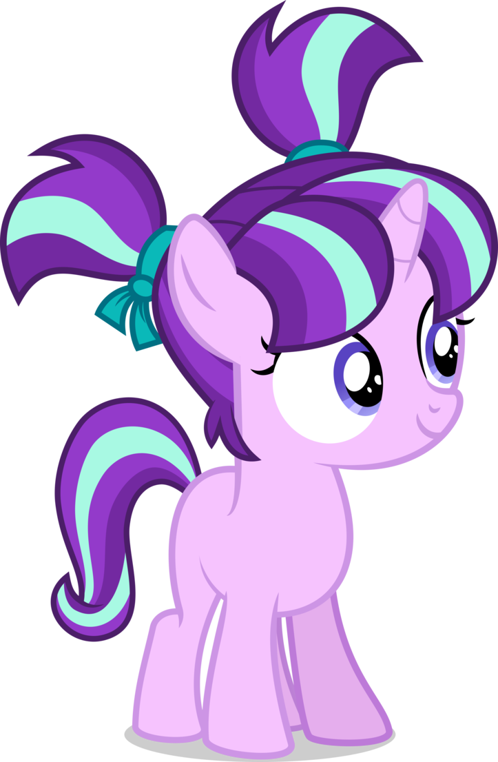 Filly Starlight Glimmer vector by xebck | My Little Pony ...