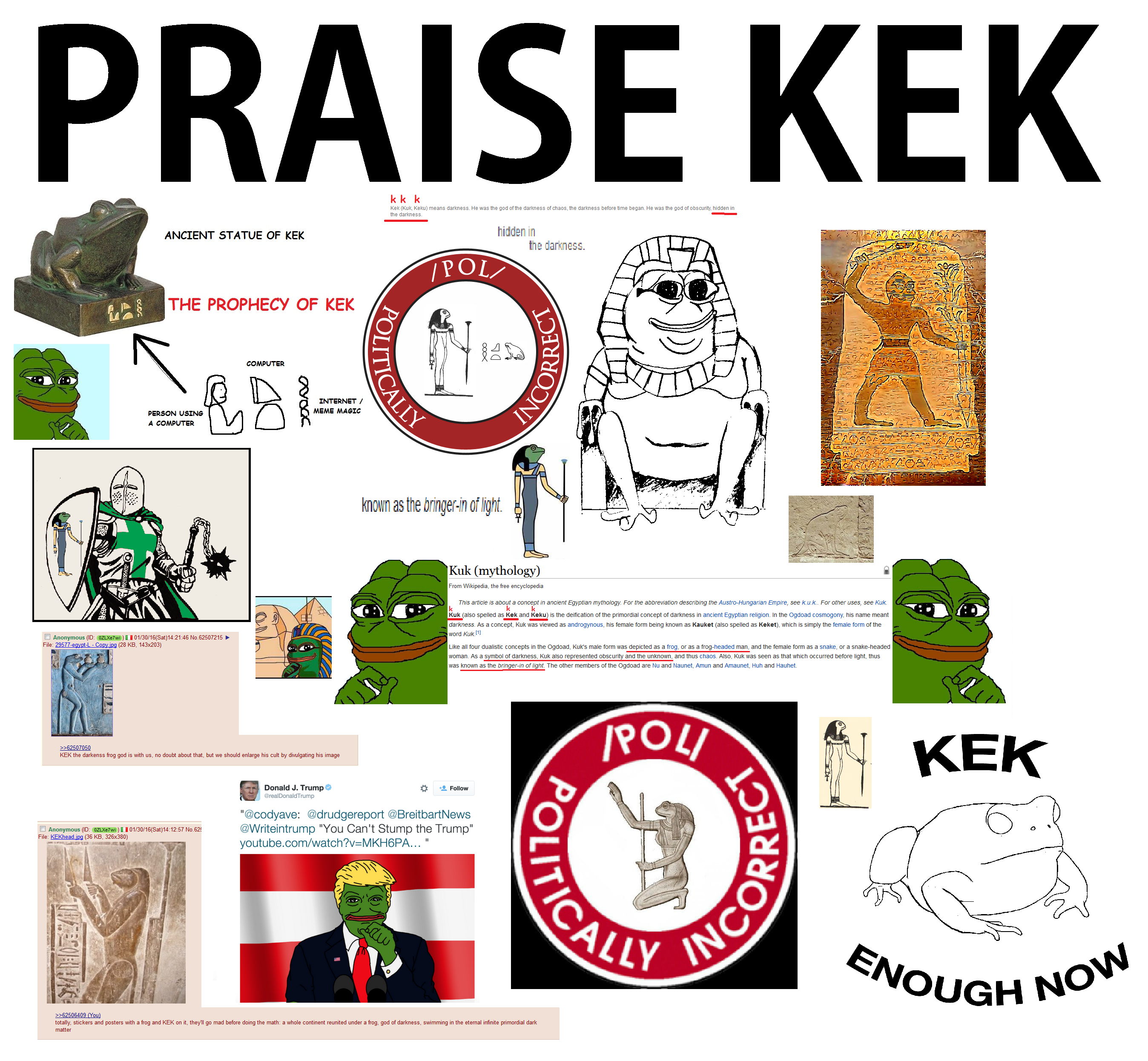 Kek: what does this word mean