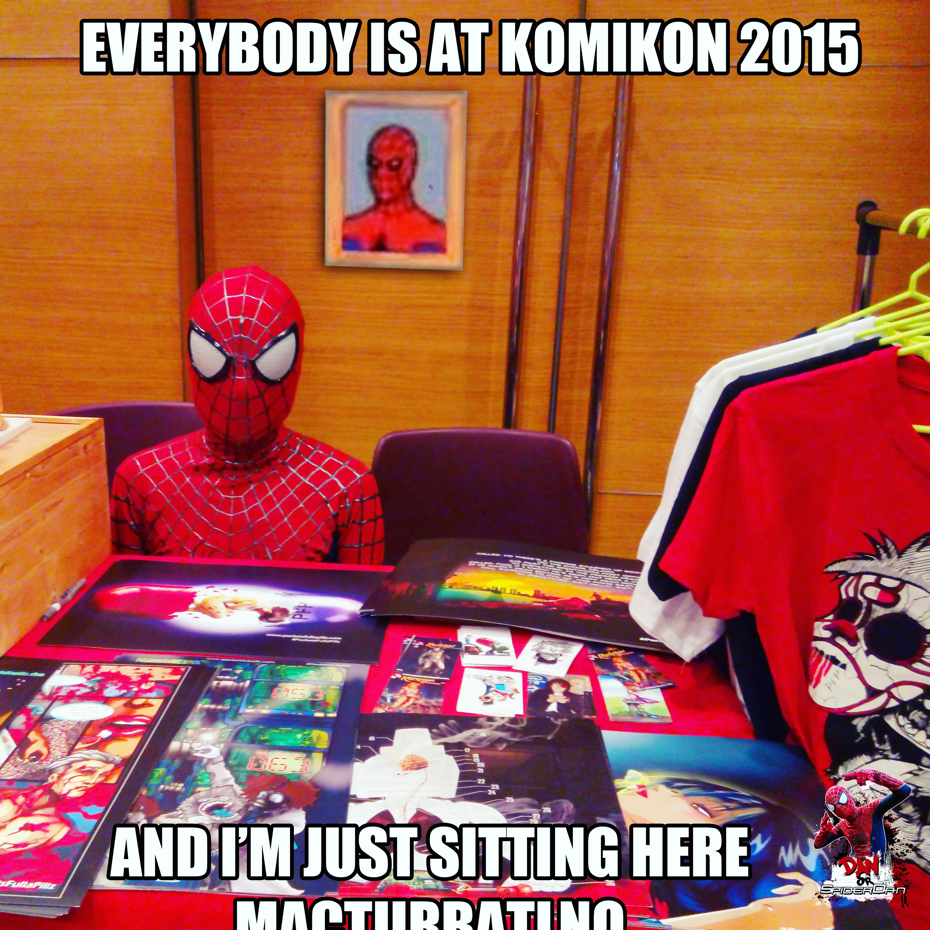 Spiderman Sitting At Desk Meme Generator | Desk Design Ideas