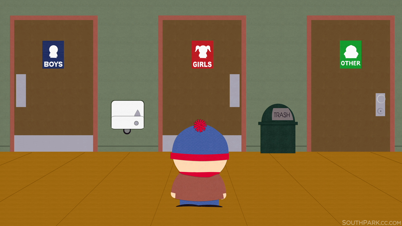 South Park Transgender Bathroom Debate Know Your Meme - Transgender bathrooms
