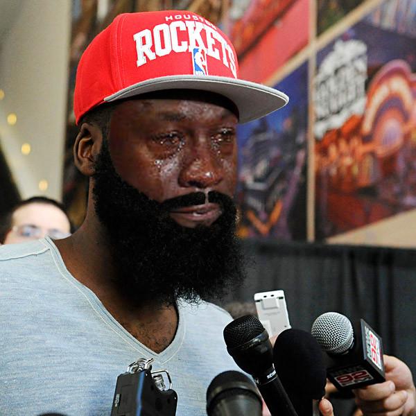 Houston Rockets Funny: Crying Michael Jordan