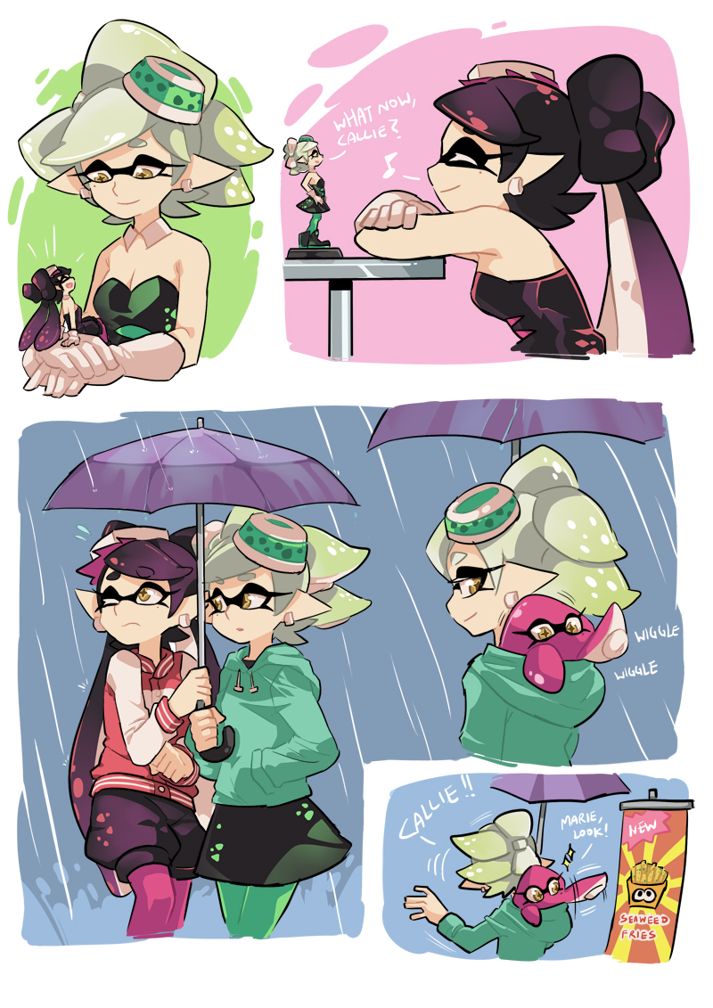 Callie And Marie Squid Sisters Know Your Meme