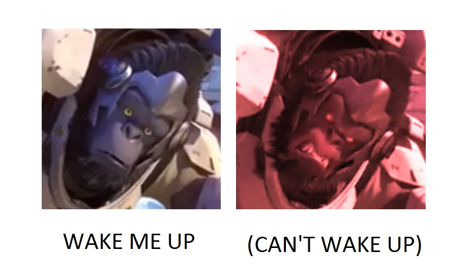 Winston can t wake up wake me up inside can t wake up know your