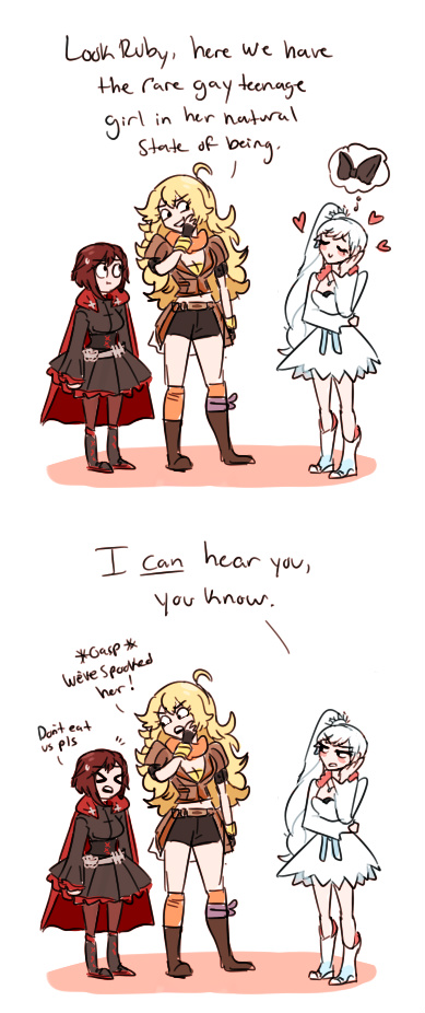 natural state of being rwby know your meme