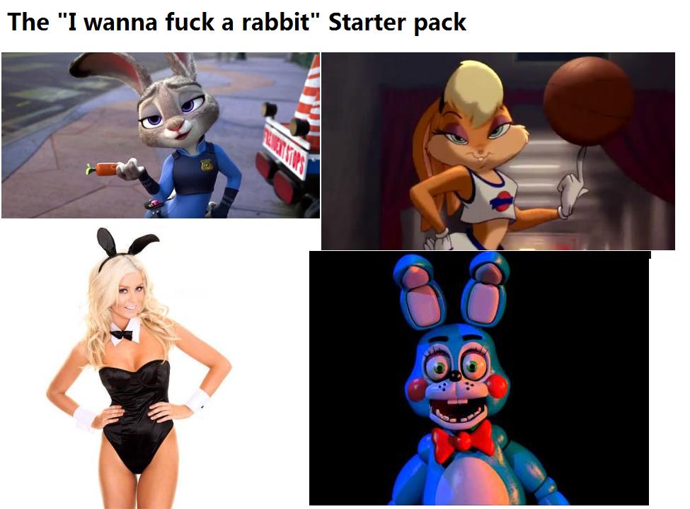 i wanna fuck the rabbit
