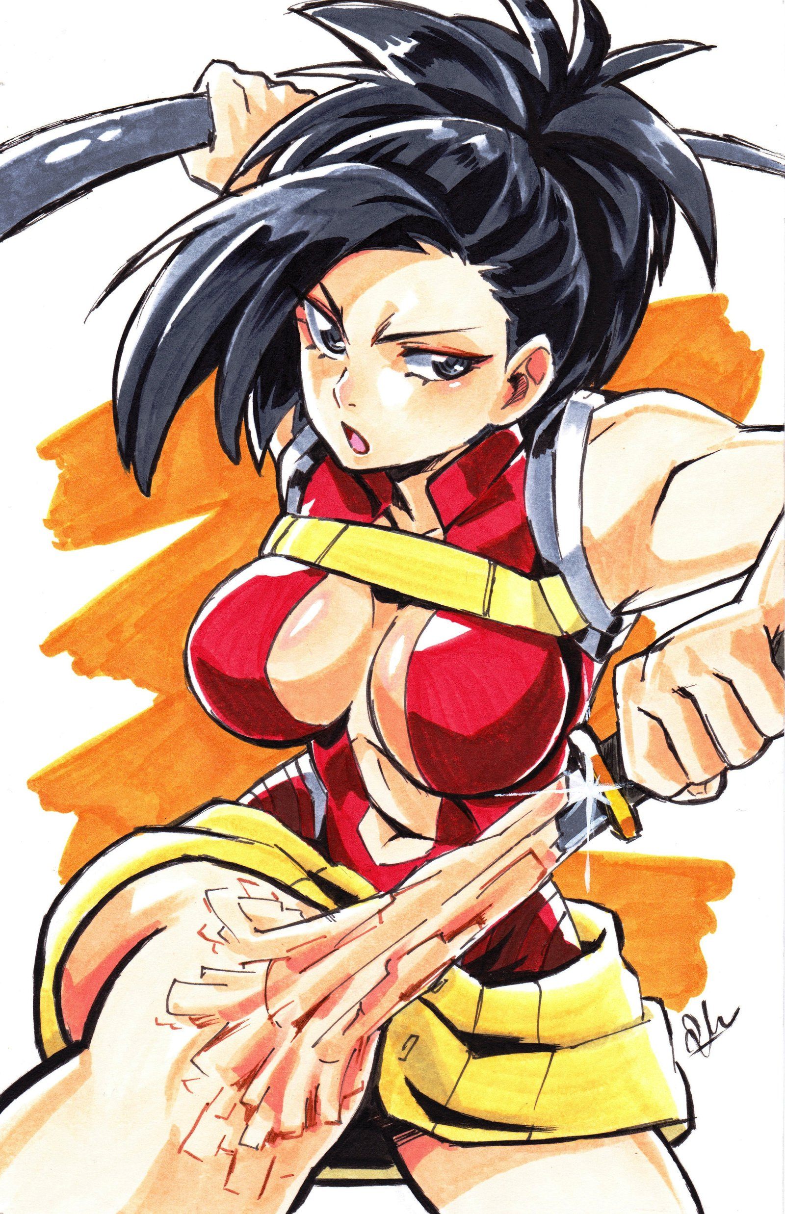 my hero academia momo
