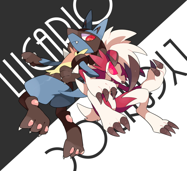 Lucario And Lycanroc Pok 233 Mon Know Your Meme