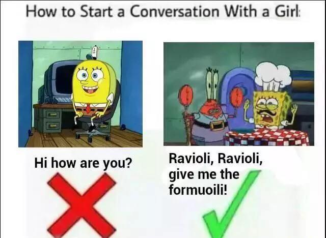 Funny ways to start conversations