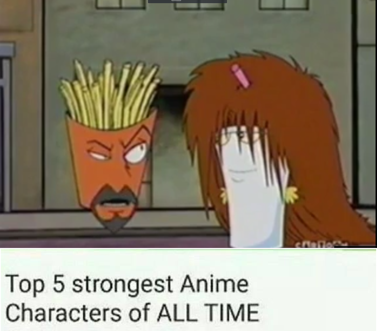 Top 5 Strongest Anime Characters of ALL TIME 30791 Views It'-s Lit ...