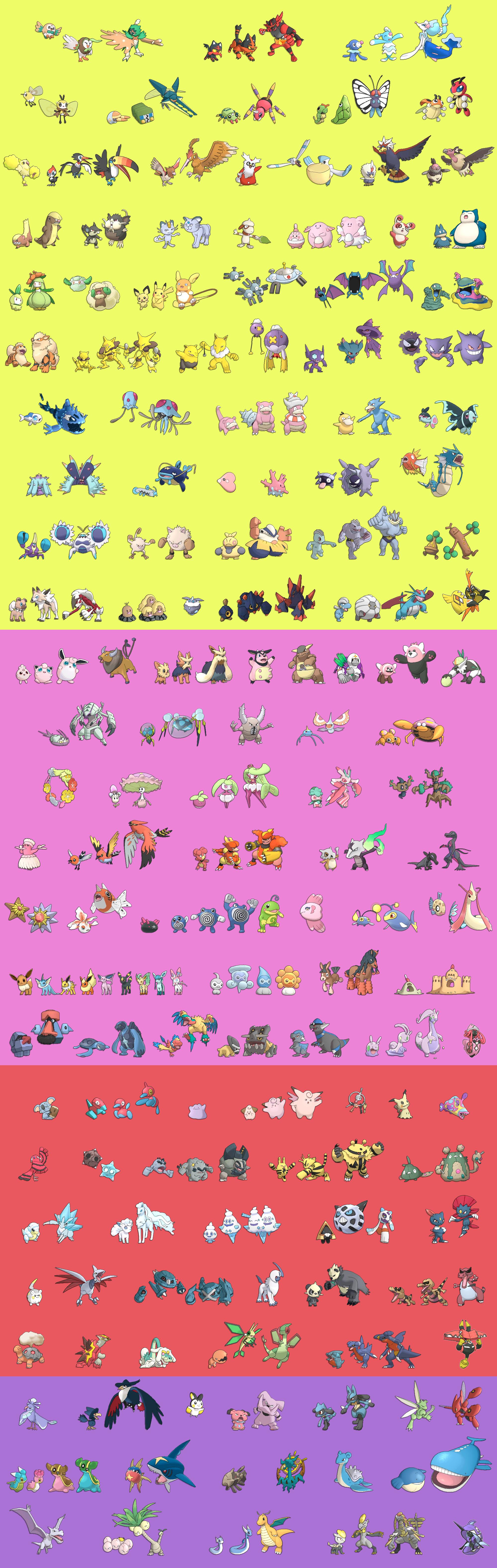 Hilo recopilatorio de Datamining y filtraciones de Pokemon Sol y ...