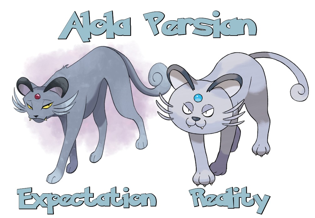 Alola Persian Expectation Vs Reality Know Your Meme