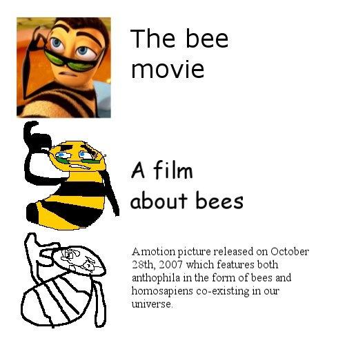 The Bee Movie Increasingly Verbose Memes