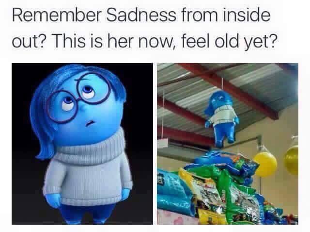 Remember Sadness From Inside Out Feel Old Yet Know