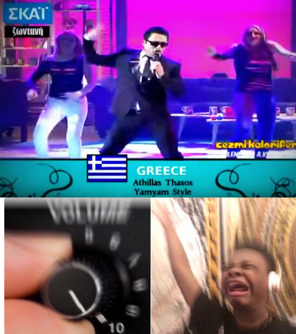 Athillas Thasos | Turn Up the Volume | Know Your Meme