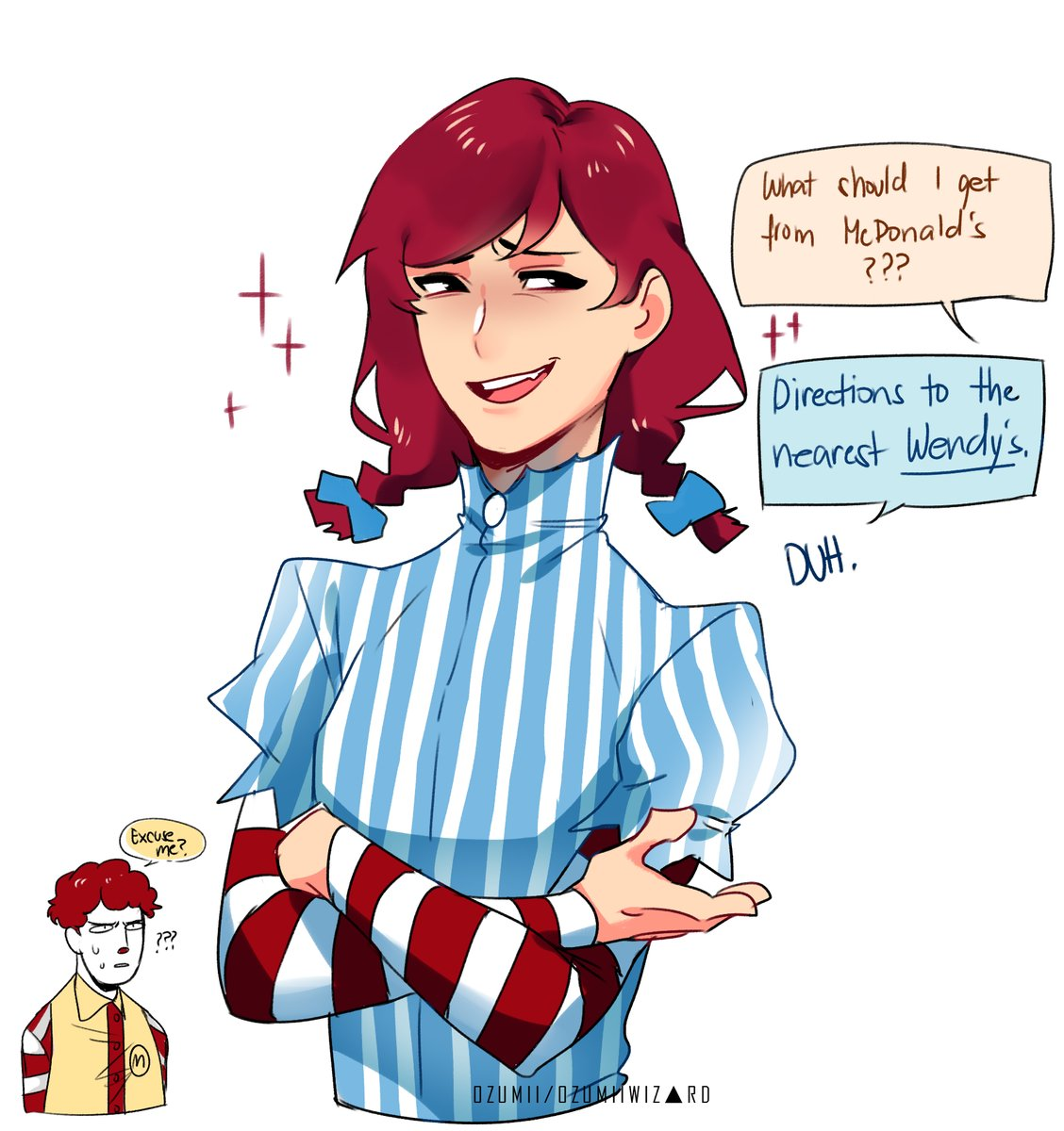 Wendy S Fast Food Comic