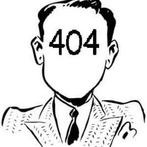 404 user not found