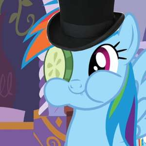 sir rainbow of dash