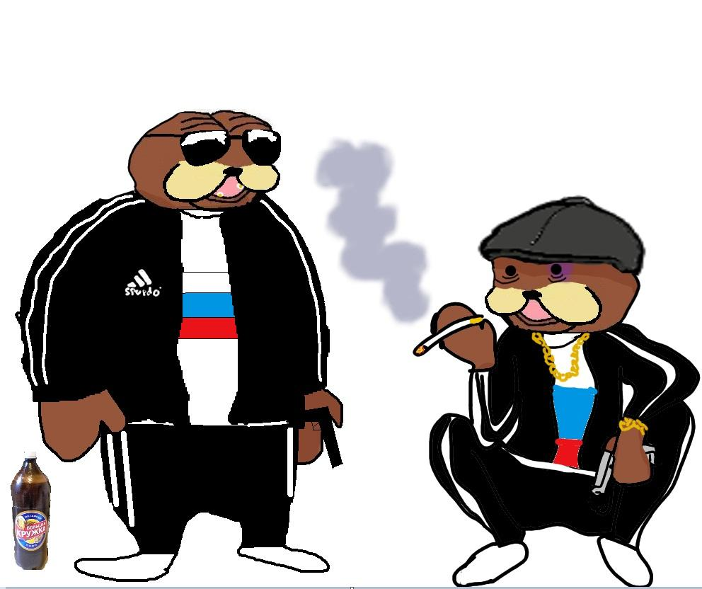 why do slavs squat