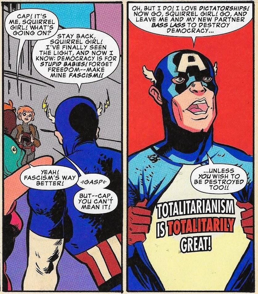 Captain America Hydra Meme