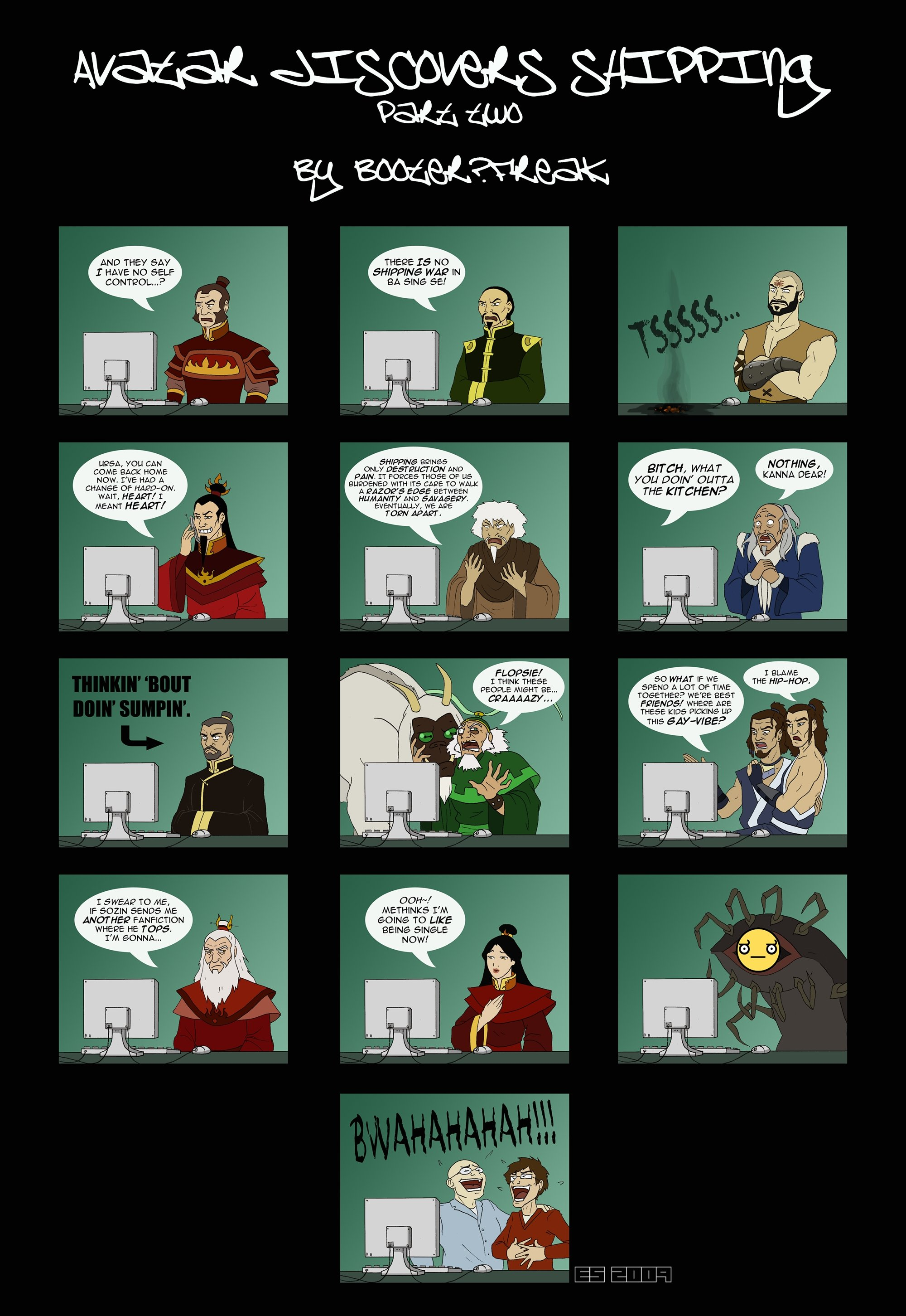 Avatar discovers shipping - part 2   Avatar: The Last ...
