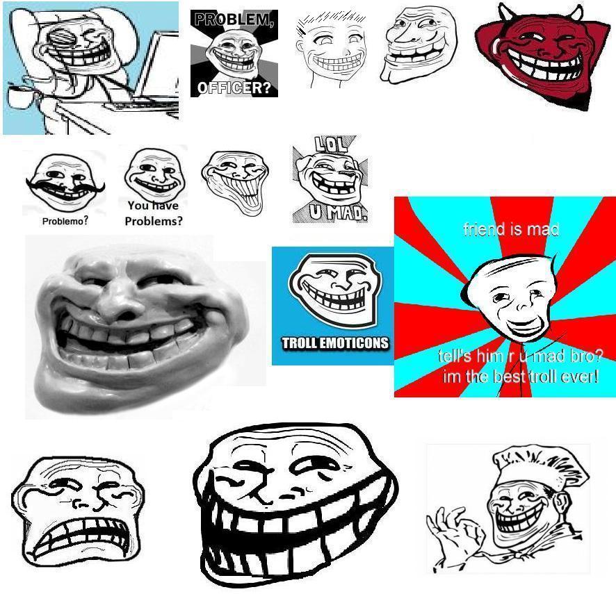 trollface coolface problem know your meme - 886×855