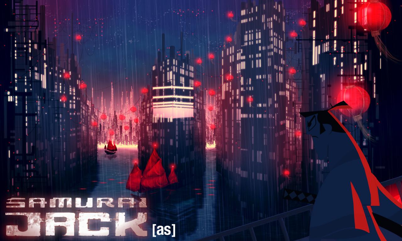 Resultado de imagem para samurai jack 2017