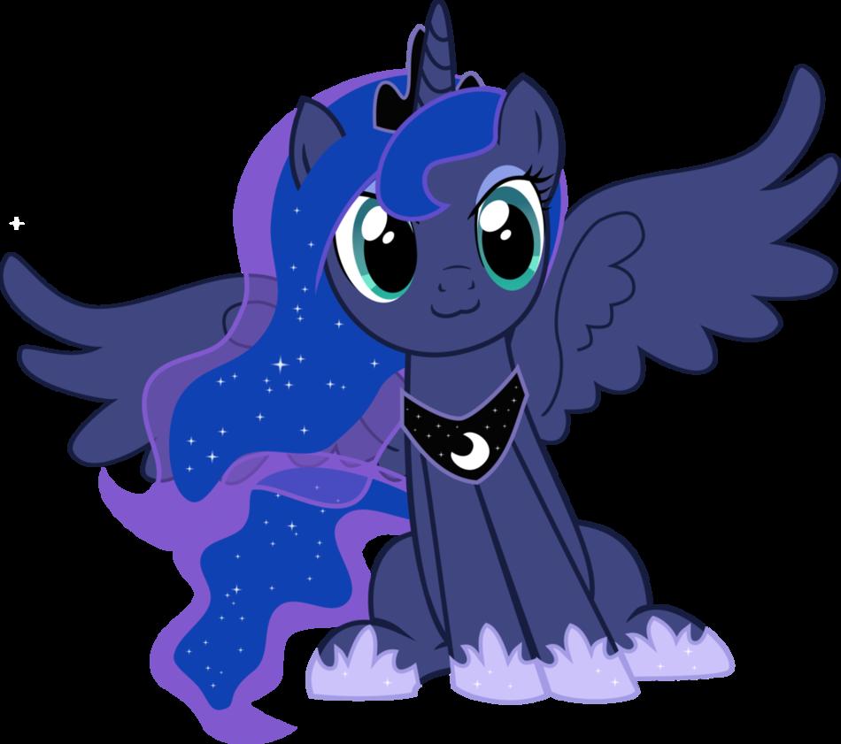 Princess Luna cat face vector   My Little Pony: Friendship ...